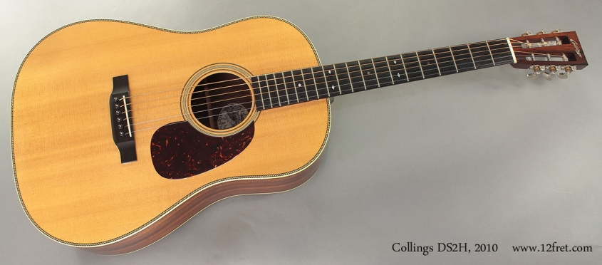 Collings DS2H 2010 full front view