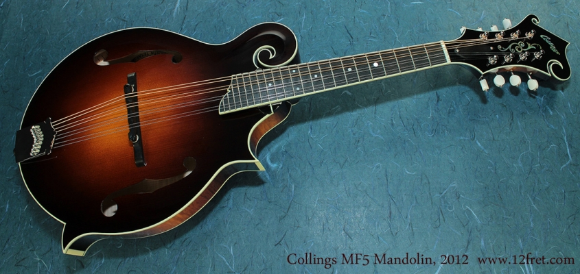 Collings MF5 Mandolin full front
