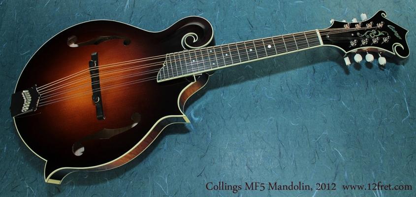 Collings MF5 Mandolin full front
