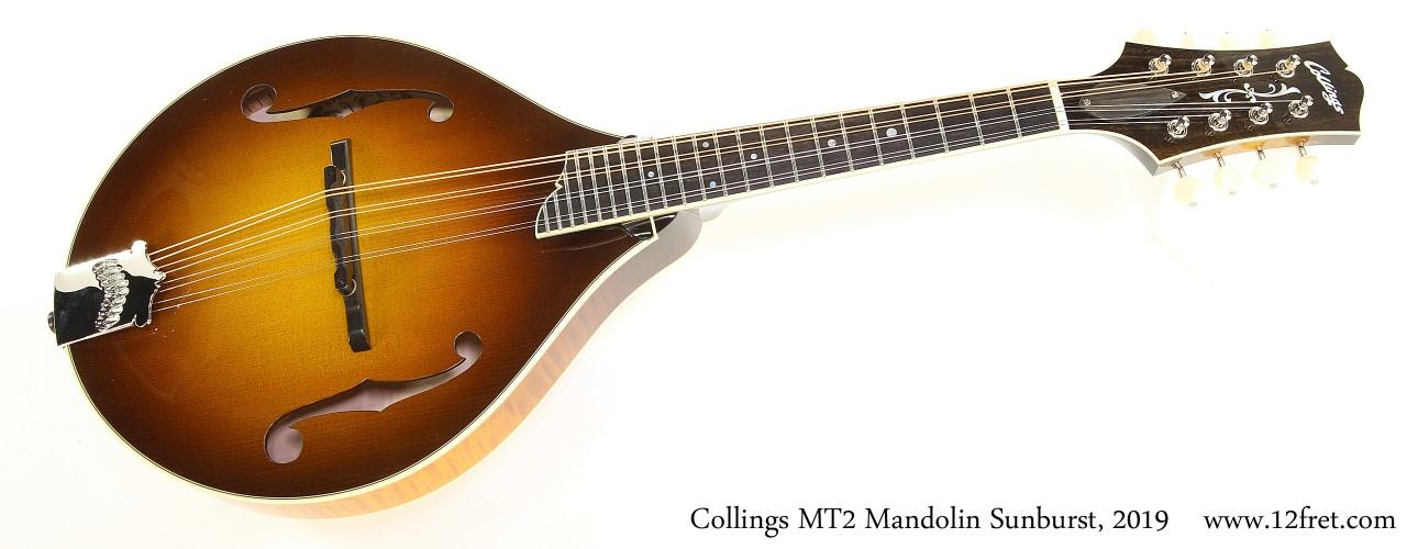 Collings MT2 Mandolin Sunburst, 2019 Full Front View