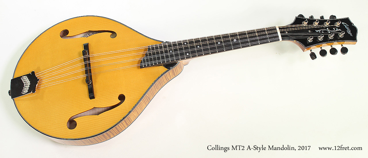 Collings MT2 A-Style Mandolin, 2017 Full Front View
