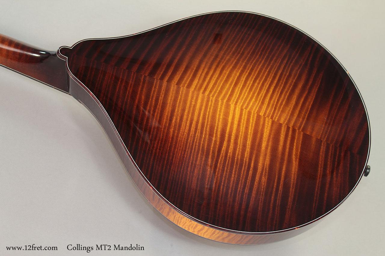 Collings MT2 Mandolin Back