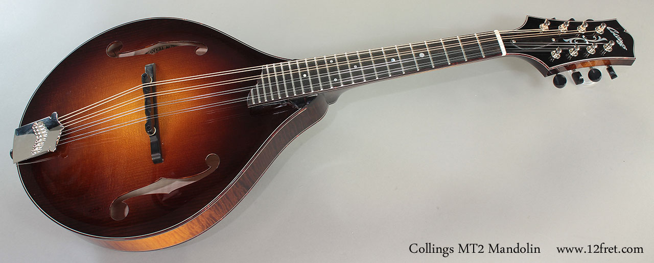 Collings MT2 Mandolin Full Front View