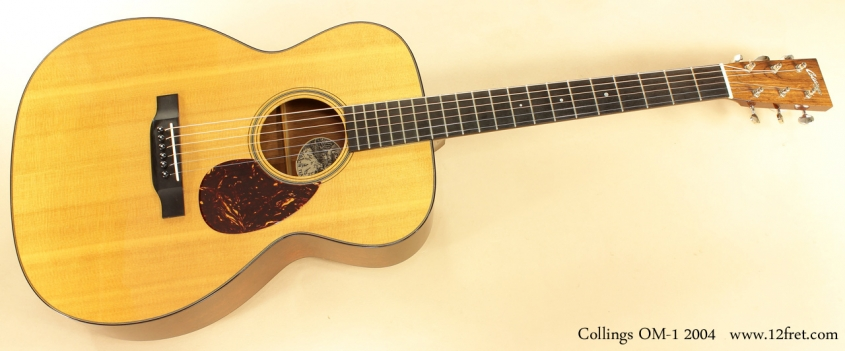 Collings OM1 2004 full front view