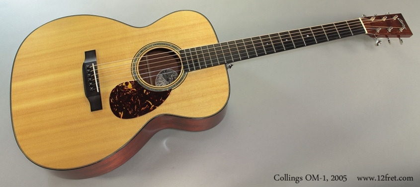 Collings OM-1, 2005 Full Front View