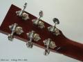 Collings OM-1, 2005 Head Rear