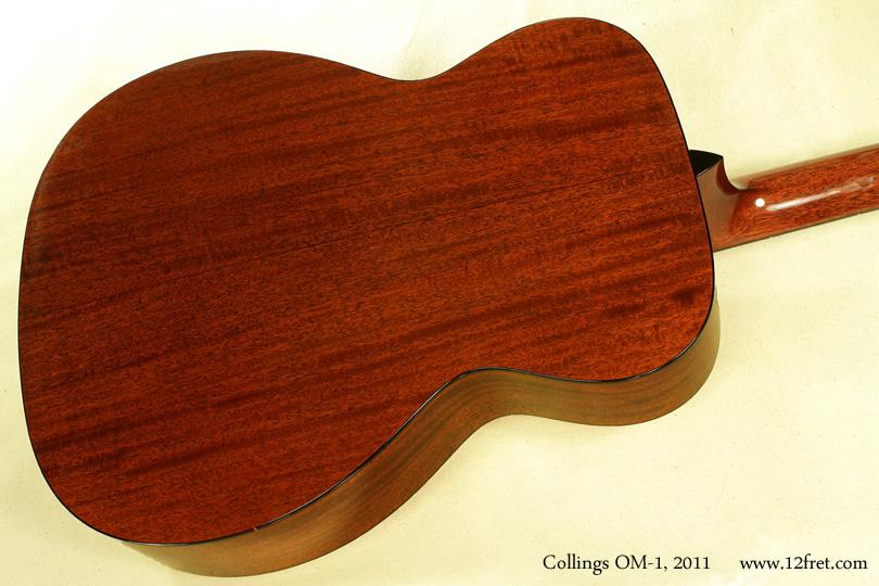 Collings OM-1 2011 back