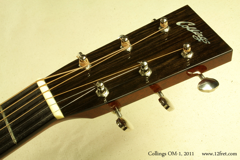 Collings OM-1 2011 head front