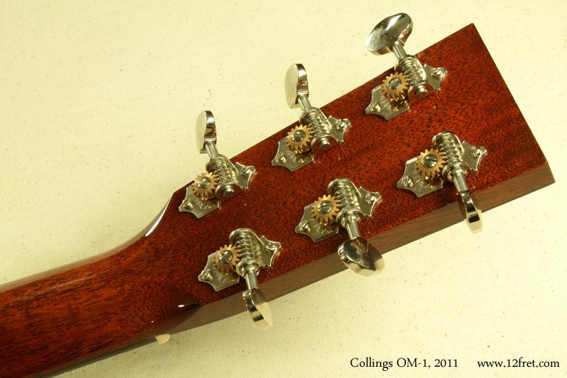 Collings OM-1 2011 head rear