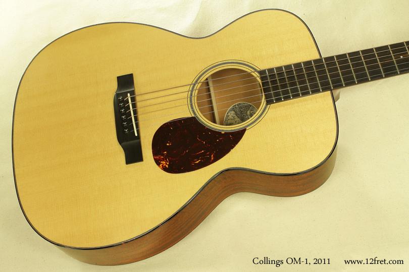 Collings OM-1 2011 top