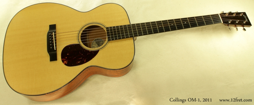 Collings OM-1 2011 full front view