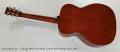 Collings OM1 Deep Body Custom Steel String Guitar, 2017 Full Rear View