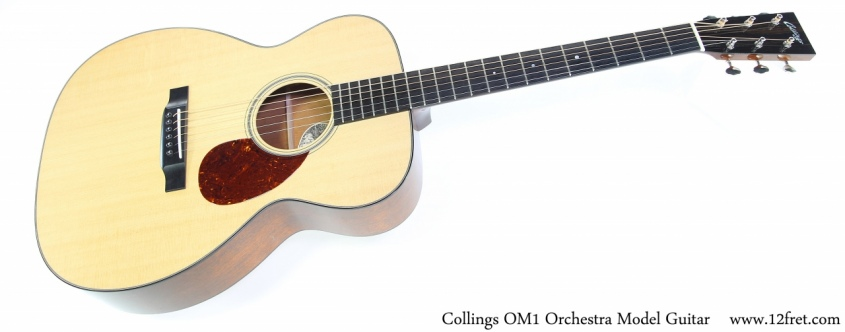 Collings OM1 Orchestra Model Guitar Full Front View