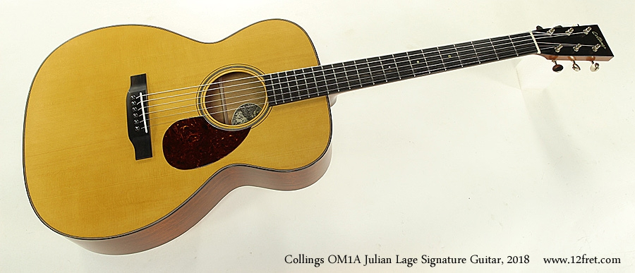 Collings OM1A Julian Lage Signature Guitar, 2018 Full Front View