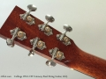 Collings OM1-CW Cutaway Steel String Guitar, 2013 Head Rear
