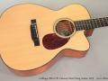 Collings OM1-CW Cutaway Steel String Guitar, 2013 Top