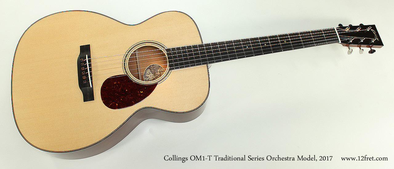 Collings OM1-T Traditional Series Orchestra Model, 2017 Full Front View