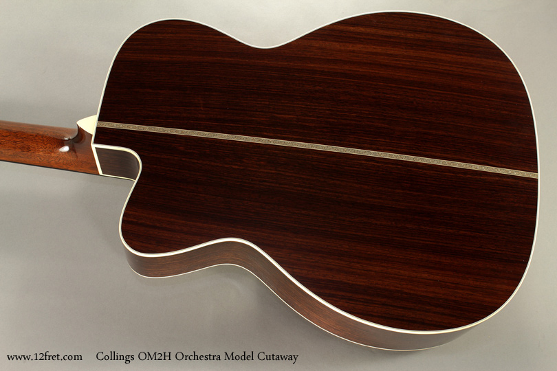 Collings OM2H Orchestra Model Cutaway back