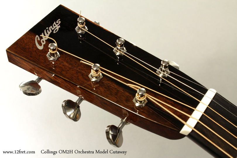 Collings OM2H Orchestra Model Cutaway head front