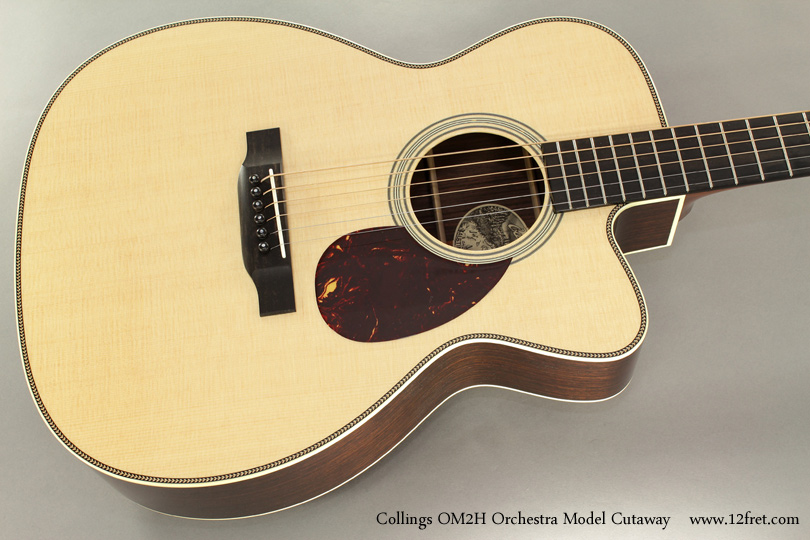Collings OM2H Orchestra Model Cutaway top