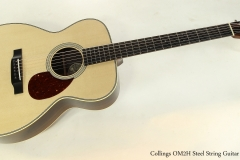 Collings OM2H Steel String Guitar  Full Front VIew