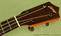 Collings UC1 Koa Ukulele headstock
