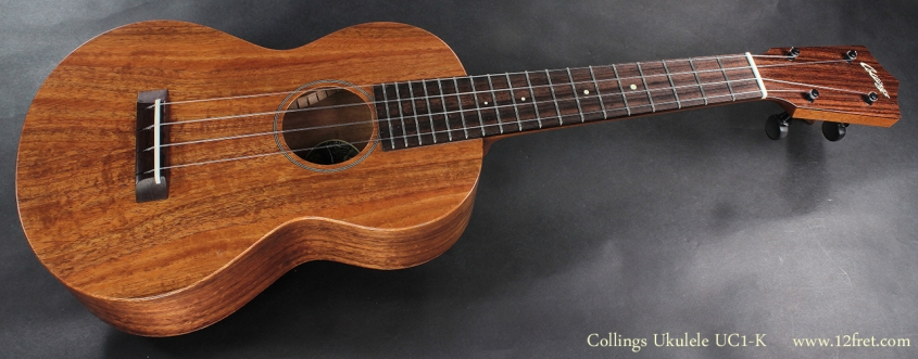 Collings UC1-K Koa Ukulele full front view