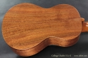 Collings UC1-K Koa Ukulele back