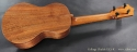 Collings UC1-K Koa Ukulele full rear view