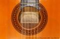 Conde Hermanos Flamenco Blanca Guitar, 1988 Label and Rosette