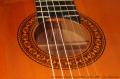 Conde Hermanos Flamenco Blanca Guitar, 1988 Stamp on Heel