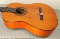 Conde Hermanos Flamenco Blanca Guitar, 1988 Top Side View Bass