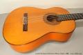 Conde Hermanos Flamenco Blanca Guitar, 1988 Top Side View Treble