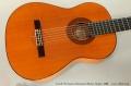 Conde Hermanos Flamenco Blanca Guitar, 1988 Top View