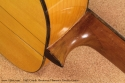1962 Conde Hermanos Flamenco Estudio Guitar  heel