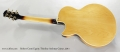 Robert Conti Equity Thinline Archtop Guitar, 2011 Full Rear View