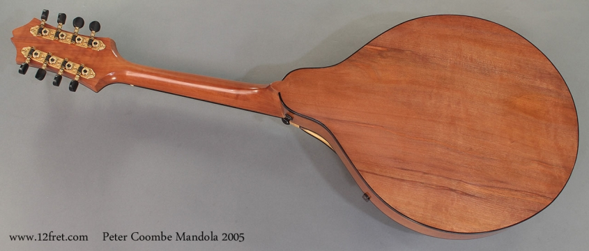 Peter Coombe Mandola 2005 full rear view