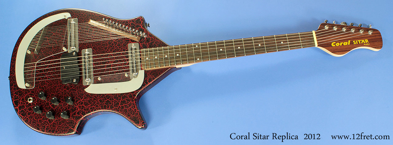 master sitar coral replica. Black Bedroom Furniture Sets. Home Design Ideas