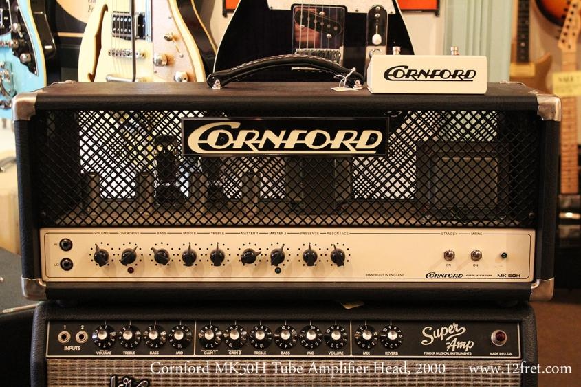 Cornford MK50H Tube Amplifier Head, 2000 Full Front View