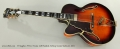 D'Angelico NYL-2 Vestax Left Handed Archtop Guitar Sunburst, 2001 Full Front View