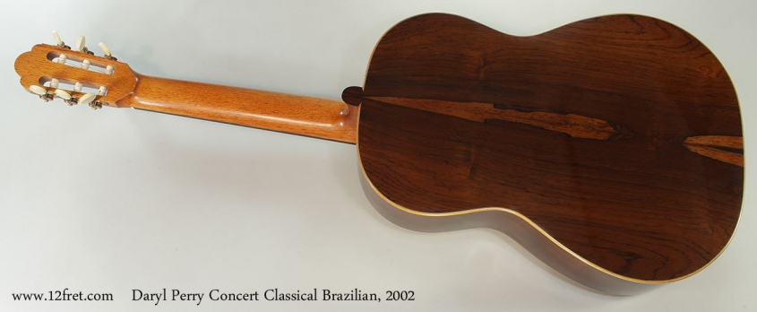 Daryl Perry Concert Classical Brazilian, 2002 Full Rear View