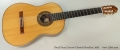 Daryl Perry Concert Classical Brazilian, 2002 Full Front View