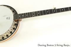 Deering Boston 5-String Banjo, 2007 Full Front View