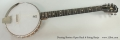 Deering Boston Open Back 6 String Banjo Full Front View