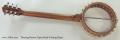 Deering Boston Open Back 6 String Banjo Full Rear View