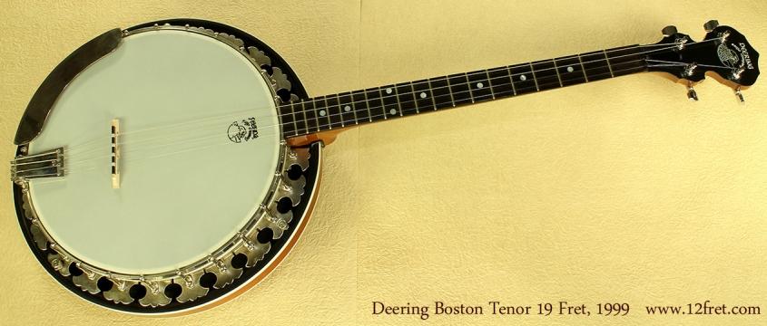 Deering Boston 19-Fret Tenor, 1999 full front