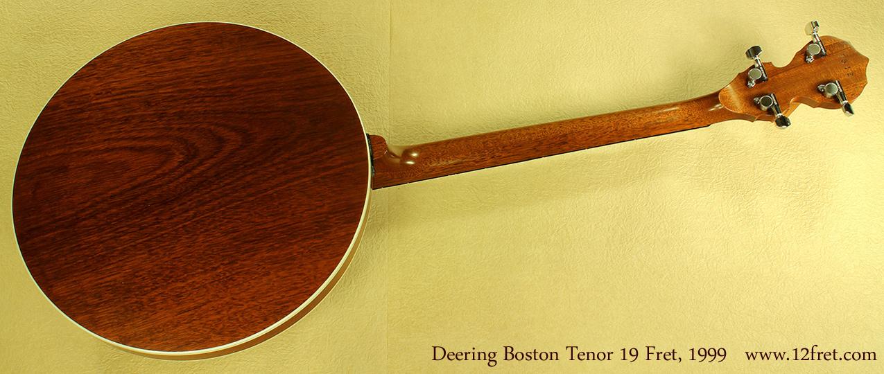 Deering Boston 19-Fret Tenor, 1999 full rear