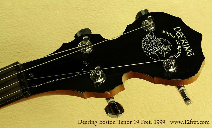 Deering Boston 19-Fret Tenor, 1999 head front
