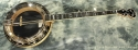 Deering Calico Banjo 1994 full front view