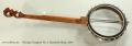 Deering Clawgrass No. 2 Openback Banjo, 2016 Full Rear View